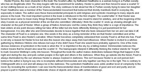 Scarlet Letter Essay Topics by College Essays College Application Essays Scarlet Letter Symbolism Essay