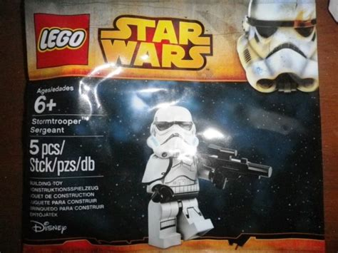 Lego Wars Stormtrooper Sergeant Polybag lego wars polybag stormtrooper sergeant for sale in