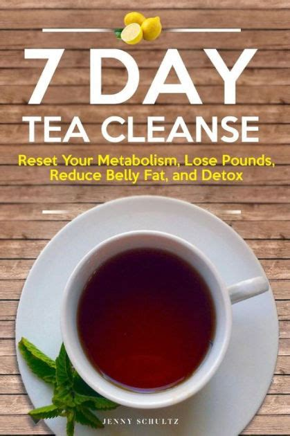 7 Day Detox Cleanse Tea by 7 Day Tea Cleanse Diet To Reset Your Metabolism Lose