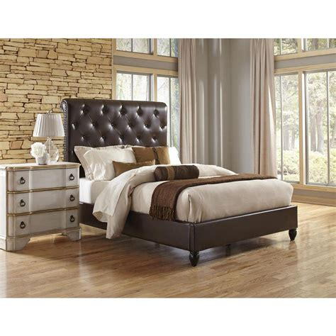 home decorators collection gordon natural king sleigh bed home decorators collection gordon natural queen sleigh bed