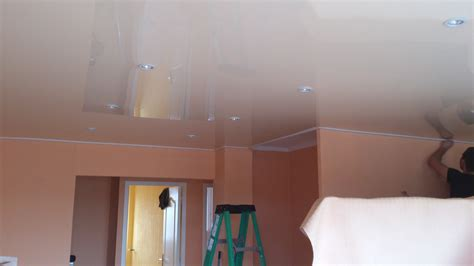 How Is A Ceiling by How To Install Stretch Ceiling