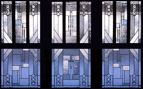 Arts And Crafts Style Kitchen Cabinets prairie stained glass scottish stained glass