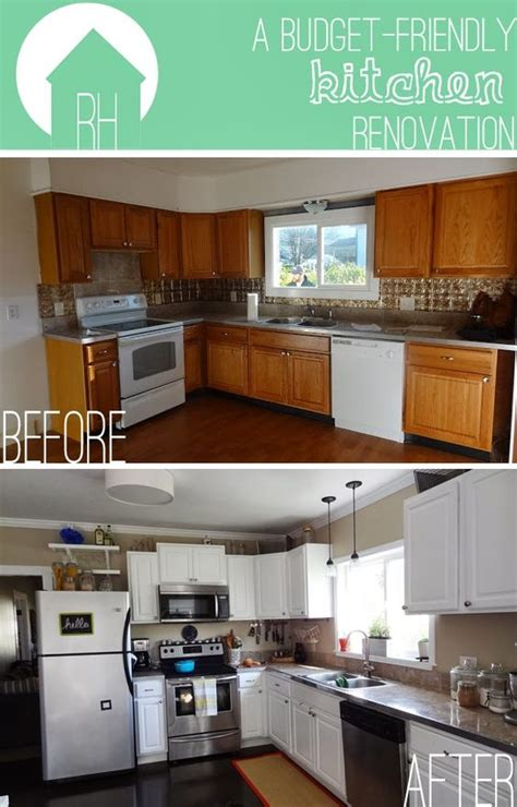 Budget Friendly Kitchen Cabinets Budget Friendly Diy Kitchen Renovation The Big Reveal By Meg Padgett From Rev Homegoods