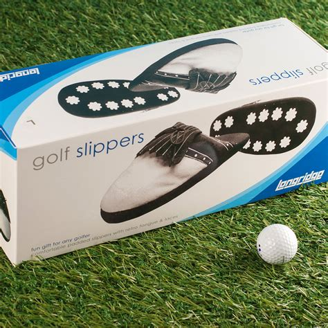 comedy slippers for comedy golf slippers golf gifts fast uk delivery