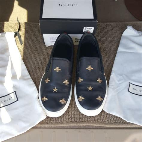 Shoes Pantofel Gucci Bee Sz 26 30 gucci other dublin bee slip on sz 11 poshmark
