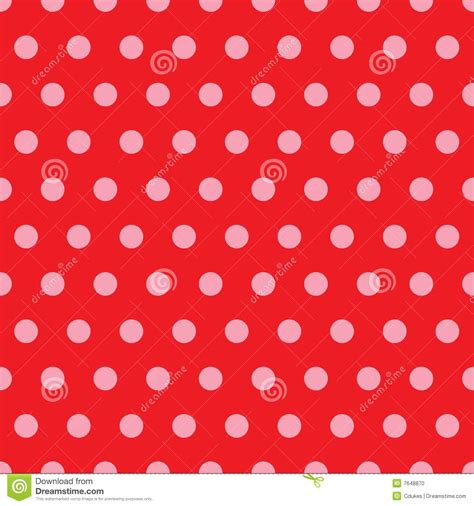 pink red pattern red pink polka dot pattern stock photo image 7648870