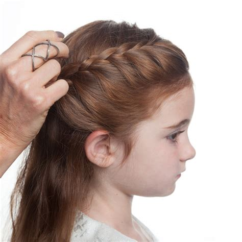 flower girl hairstyles half up flower girl s braided half up half down hairstyle martha