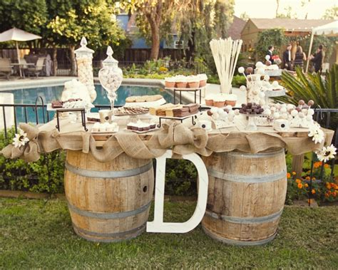 Rustic Table Decorations by Rustic Wedding Table Decor Photograph Loverly Weddings