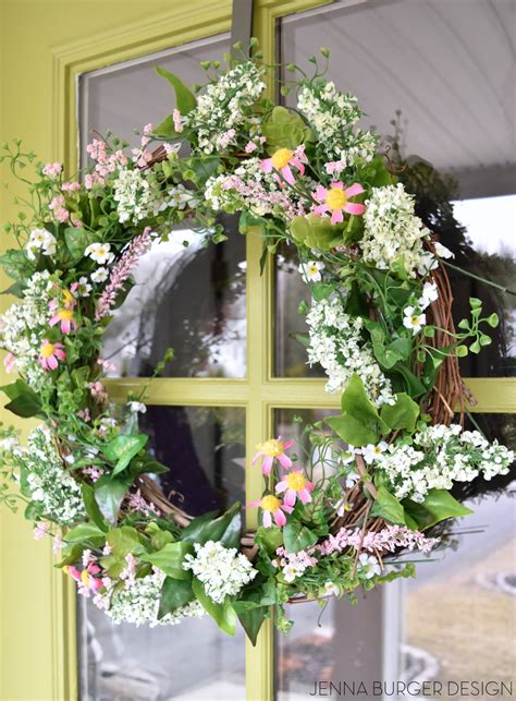 whimsical spring forsythia wreath jenna burger simple spring wreath jenna burger