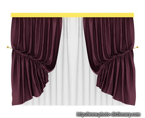 definition of curtain tracery textile curtain photo picture definition at