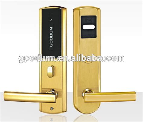 Apartment Door Lock System Goodum Professional Electronic Key Card Door Lock For