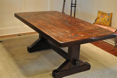 Handmade Table - handmade dining table