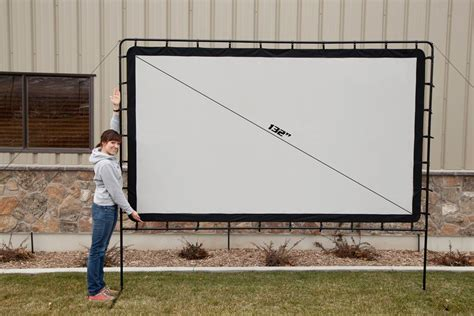 backyard big screen amazon com c chef os132 super outdoor indoor movie