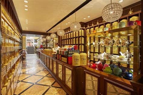 twg tea  leicester square boutique boasts