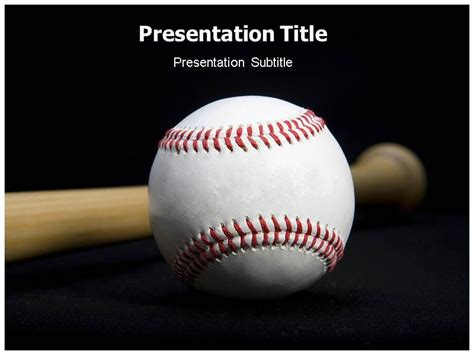 baseball team strategy powerpoint templates baseball