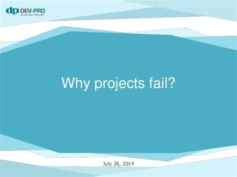 Common Mistakes To Avoid When 10 Reasons Why Projects Fail Or Common Mistakes To Avoid