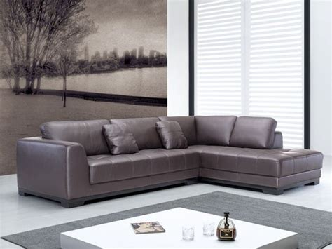 quality leather l shape sectional