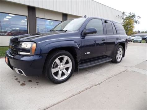 where to buy car manuals 2008 chevrolet trailblazer engine control purchase used 2008 chevrolet trailblazer ss blue 24k mi still on mso for sale by dealer in