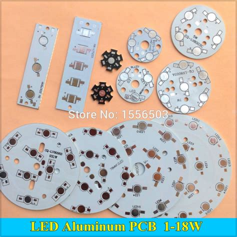 Heat Sink Aluminium Plat Pendingin Led 12w 12x 1w Uni Limited 1 10pcs led power pcb board plate l panel aluminum heat sink 1w 3w 5w 7w 9w 12w 15w 18w circle