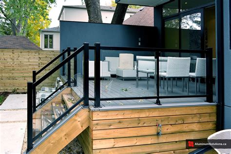Home Exterior Design Toronto glass house project deck