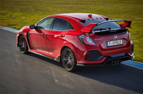 honda civic type r 2017 2017 honda civic type r does 0 100km h in 5 7 seconds