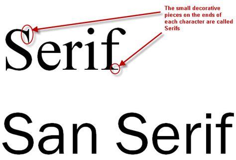 design font serif sans serif research lorenashleigh