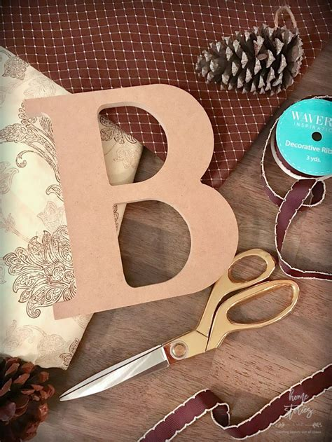Fabric Covered Letters by How To Make Fabric Covered Letters Mod Podge Tutorial