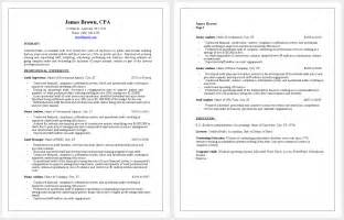 professional cpa resume sle resume writing service