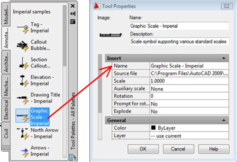 reset tool palettes autocad control tool properties