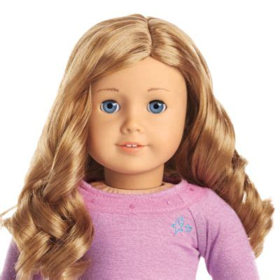 Hair Style Kit Name by Truly Me Doll Light Skin Curly Light Hair Blue
