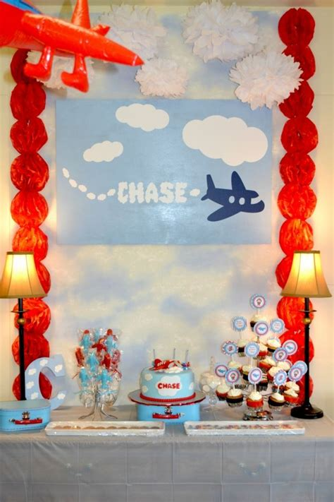 boys plane birthday party dessert table wwwspaceshipsandlaserbeamscom spaceships  laser