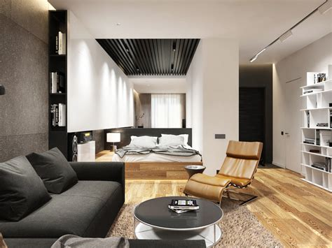apartment designs for a small family and a bachelor