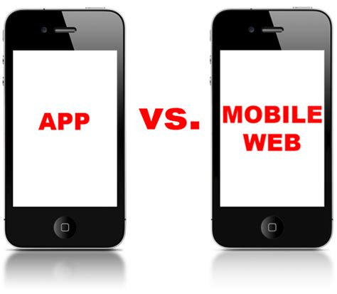 web mobile mobile app vs mobile website what s better for business