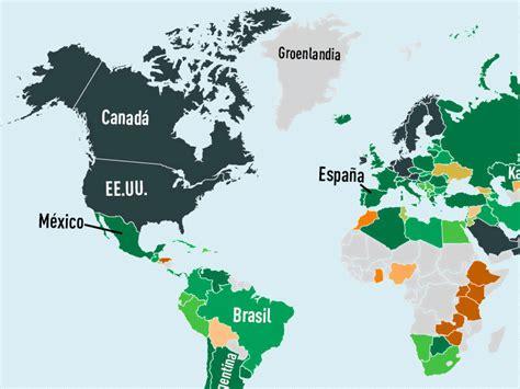 salario mensual mientras que en venezuela el 1805 segn una mapa 191 cu 225 nto vale la cesta familiar en todo el mundo