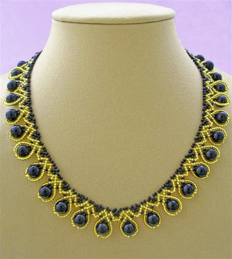 free jewelry patterns free pattern for beaded necklace ra magic