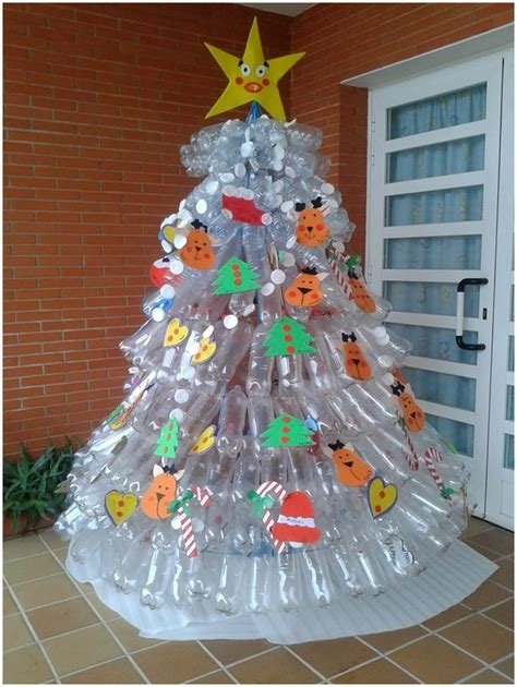christmas decoration using recycled materials tree decoration recycled materials www indiepedia org