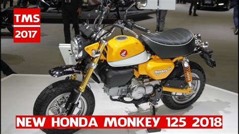 Motorrad Monkey 125 by New 2018 Honda Monkey 125 Honda Monkey 125 At The 2017