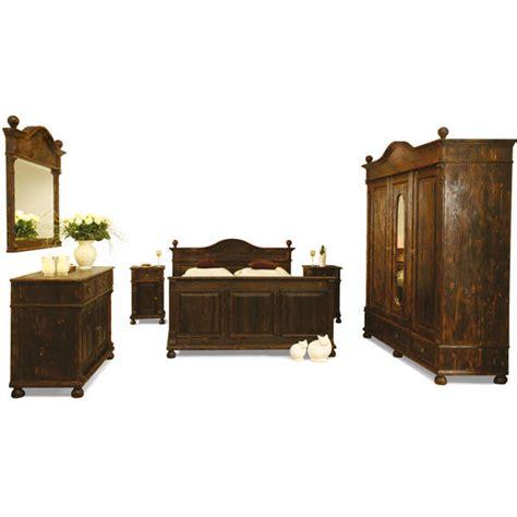 schlafzimmermöbel echtholz landhausbett 160x200 cm lattenrost 4 schubladen optional