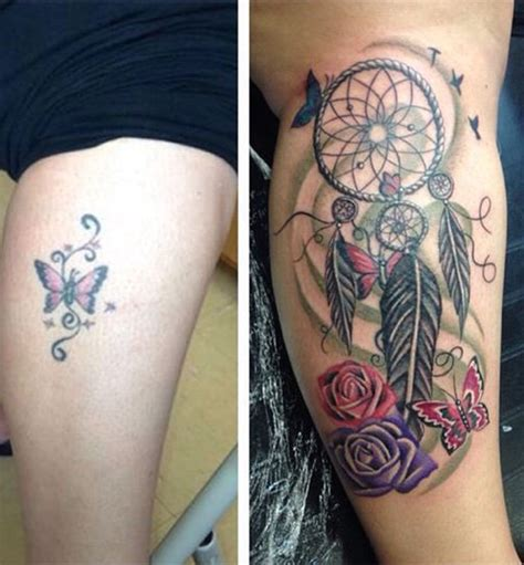 tattoo cover up before and after coverup design ideas from tailors