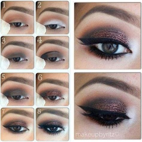 eyeliner tutorial for brown eyes step by step eye makeup pics my collection