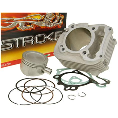 Vespa Lx 125 Upgrade Mallosi Italy malossi 190cc big bore cylinder kit for 125cc 150cc