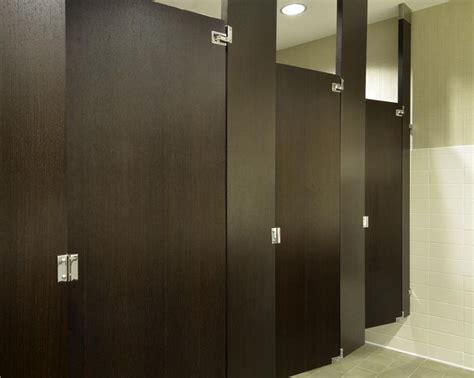 wood bathroom stalls 18 best wood veneer toilet partitions images on pinterest