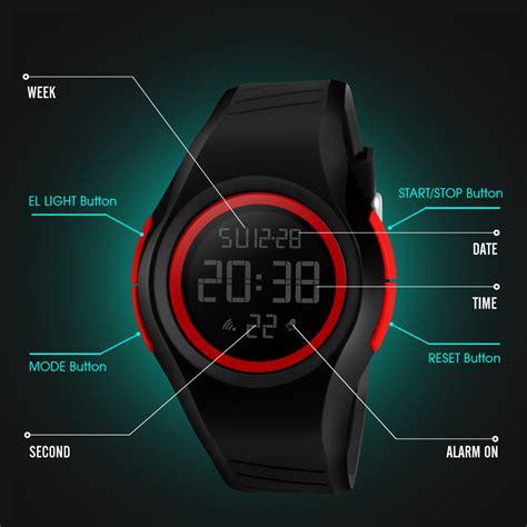 Jam Tangan Pria Suunto Digital Premium skmei jam tangan digital pria 1269 army green jakartanotebook
