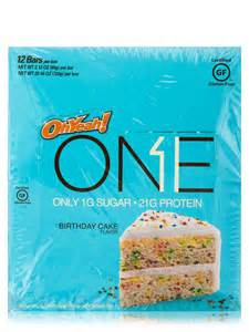 One To One Bar Oh Yeah One Bar Birthday Cake Flavor Box Of 12 Bars 2