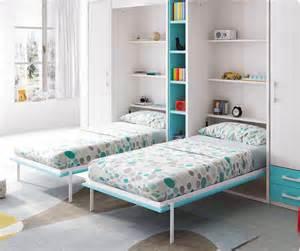 lit escamotable armoire avec 2 couchages glicerio so nuit