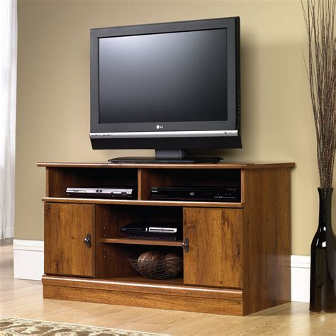 Sauder Furniture Tv Stand by Sauder 407432 Harvest Mill Panel Tv Stand Atg Stores