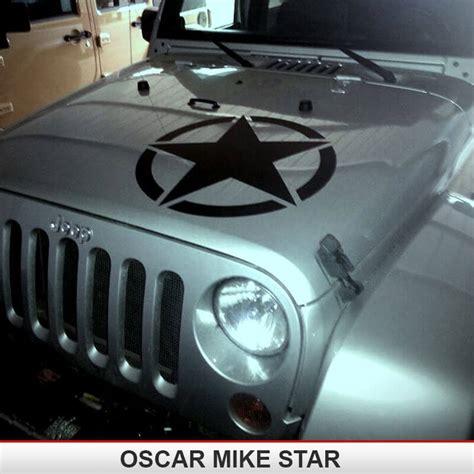 OSCAR MIKE Hood Star   AlphaVinyl