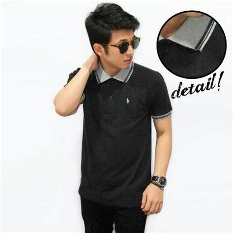 Kaos Kerah Baju Murah Baju Kerah jual kaos polo baju pria kerah hitam import murah