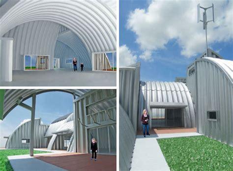 steel arch house prefabulous buildings 10 fantastic prefabricated homes