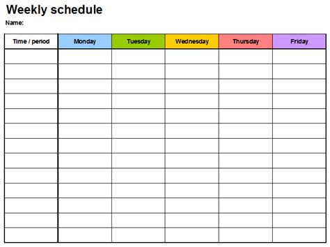 daily planner template in word weekly planner template 7 free schedule planners
